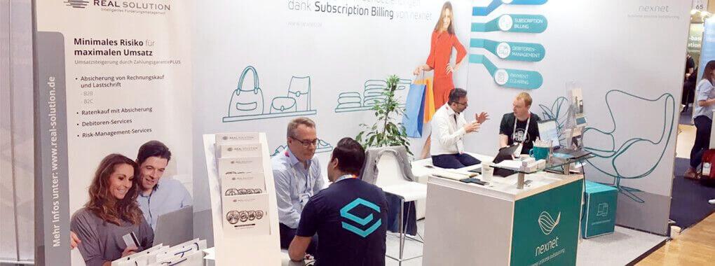 nexnet präsentierte Subscription Billing auf der K5