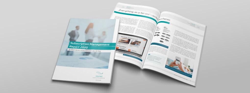 Subscription Management Report 2020 Die Abo-(R)Evolution in Deutschland